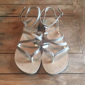 Mossimo printed strappy sandals 7.5